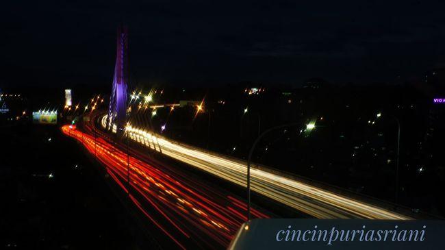 Bandung, West Java BandungIsMe @traveling Speed Night City Enjoying Life Snapseed
