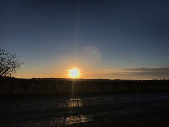 MobileSky Sunrise Sun Sky Clouds Shotoniphone7plus