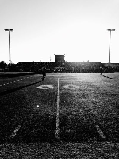 High School Games Sports Friday Night Lights Football Sky Clear Sky Street Nature Street Light Architecture Built Structure Outdoors