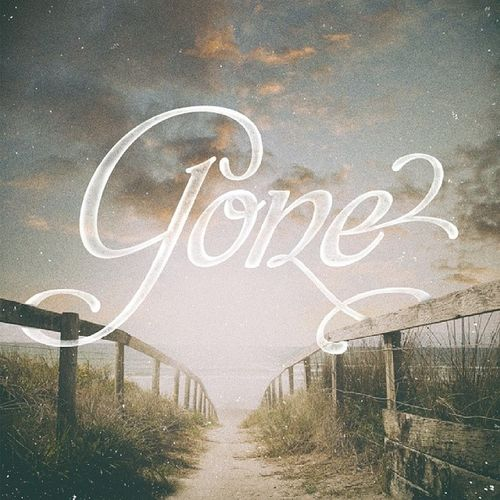 Andy Timmons - Gone Lettering Typeverything Typography Goodtype AndyTimmons Gone Ibanez dailytype