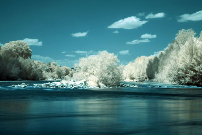 Peace in the valley Taking Photos Infrared Landscape_Collection Holiday