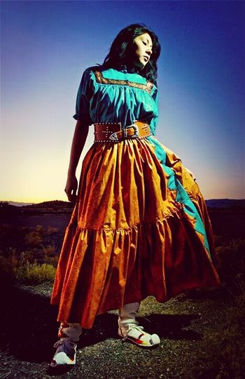 mya. Beautiful Native American Woman Photography