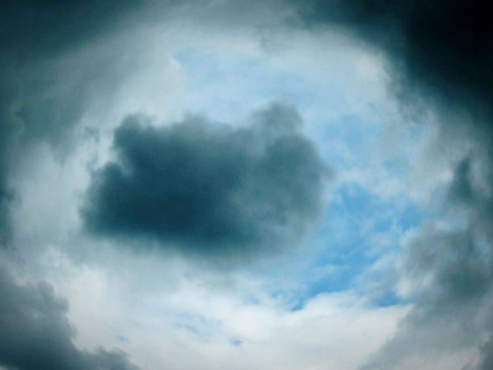 ◽ eye spy... 💟 ◽ Clouds And Sky Cloudscapes Eye Fish-eye Lens Sky And Clouds Skylovers Minimalist Simplicity Sky_collection Pastel_power Hello World Minimalist Details Details Of Nature Precipitation Landscapes May 2016