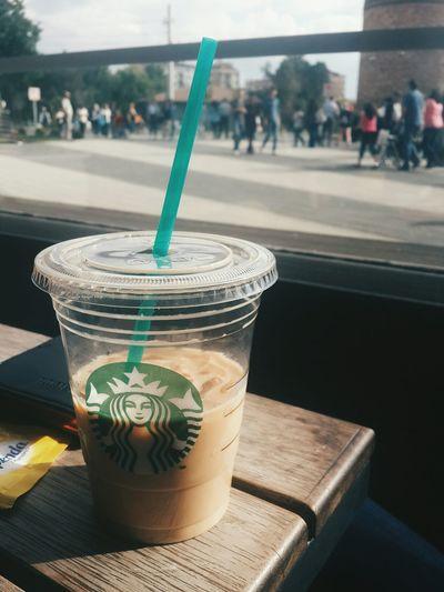 Coffee Starbucks <3 Espark Hi!