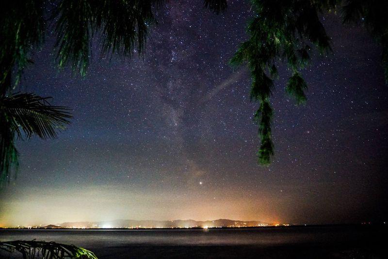 Night sky from Koh Phangan Night Sky Star - Space Beauty In Nature Tranquil Scene EyeEmNewHere EyeEm Selects