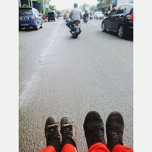 becak owners wkwkkw Relaxing