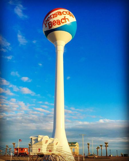 Welcome to Pensacola Beach Travel Travel Photography Travelphotography Visitflorida Pensacola Beach Pensacola Beach Visit Pensacola Florida Water Tower Pics Water Tower Pcola