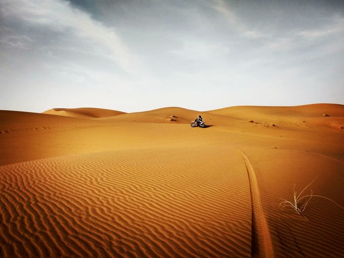 Merzouga Desert Off-road Vehicle Adventure Sand Morocco First Eyeem Photo