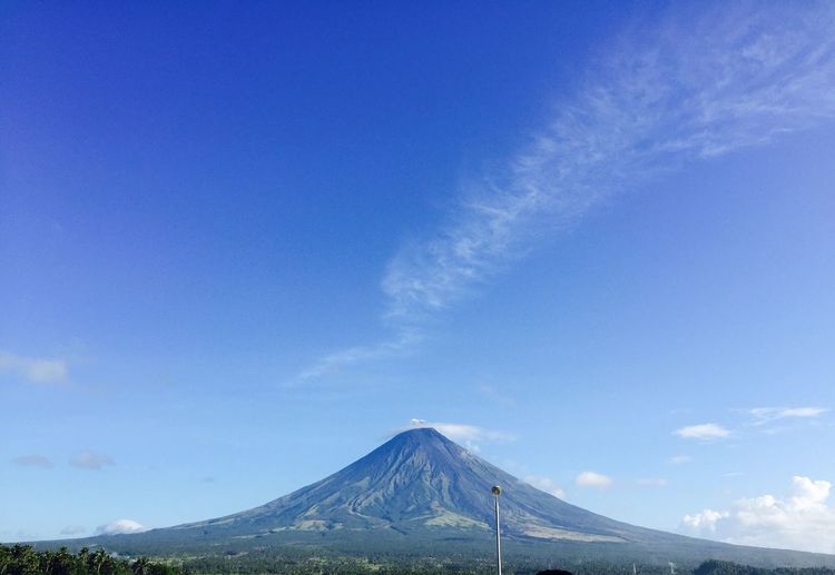 When the perfect Mayon Volcano is right in front of you 😍 Mayon Volcano Philippines Mountain Blue Perfect Cone Perfect Cone Volcano Mayonvolcano Volcano Scenics Landscape Nature Outdoors EyeEm Nature Lover EyeEm Best Shots - Nature EyeEmNewHere Eyeem Philippines Blue Sky The Week On EyeEm