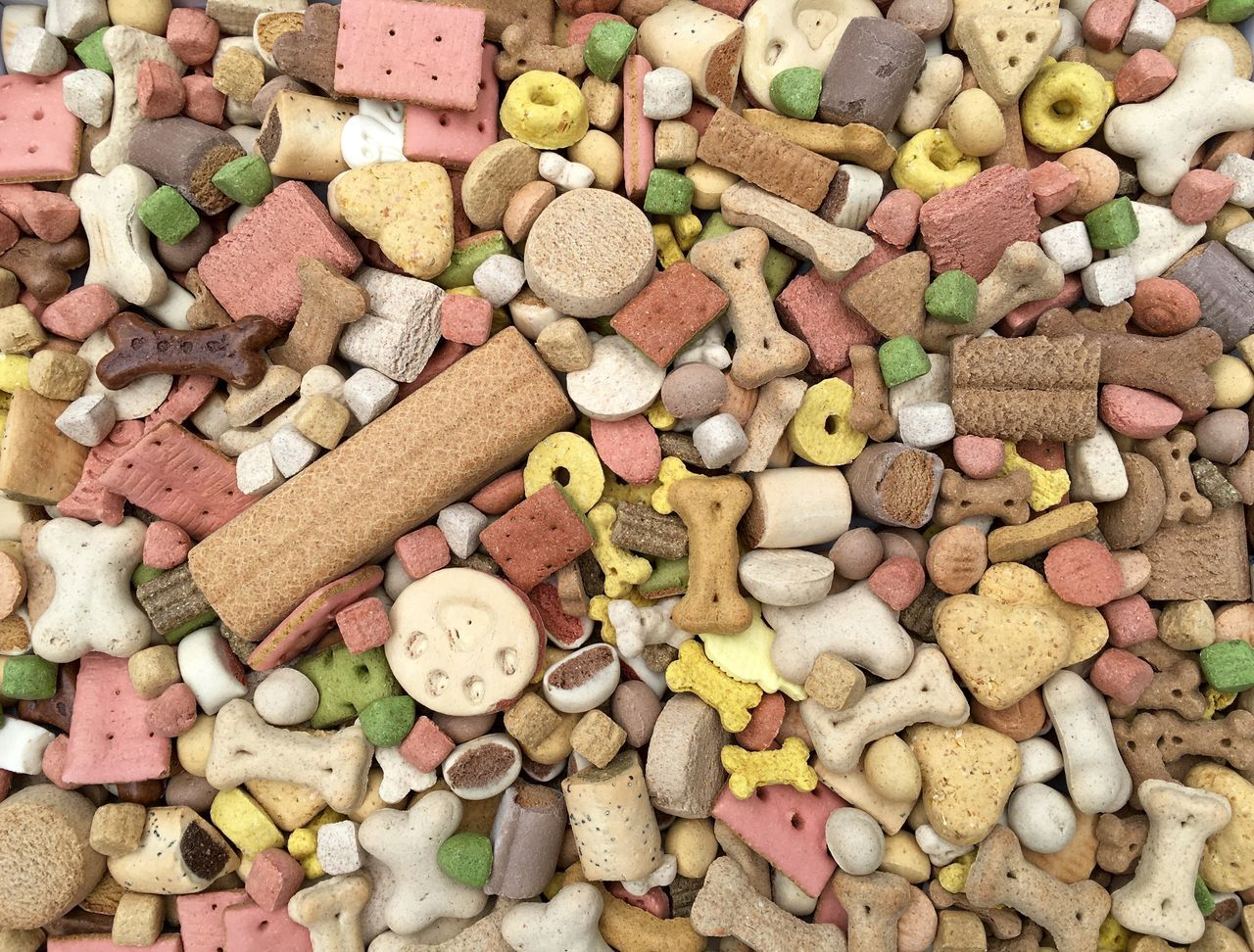 Full Frame Shot Of Dog Food