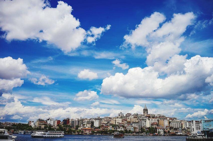 Istanbul Landscape Cityscape Clouds And Sky Cloudporn Istanbul - Bosphorus Bosphorus