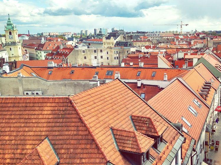 Day Cloud - Sky Town City Cityscape Roof Rooftop Bratislava, Slovakia The Architect - 2017 EyeEm Awards The Week On EyeEm