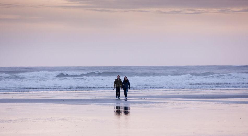 A couple Beach