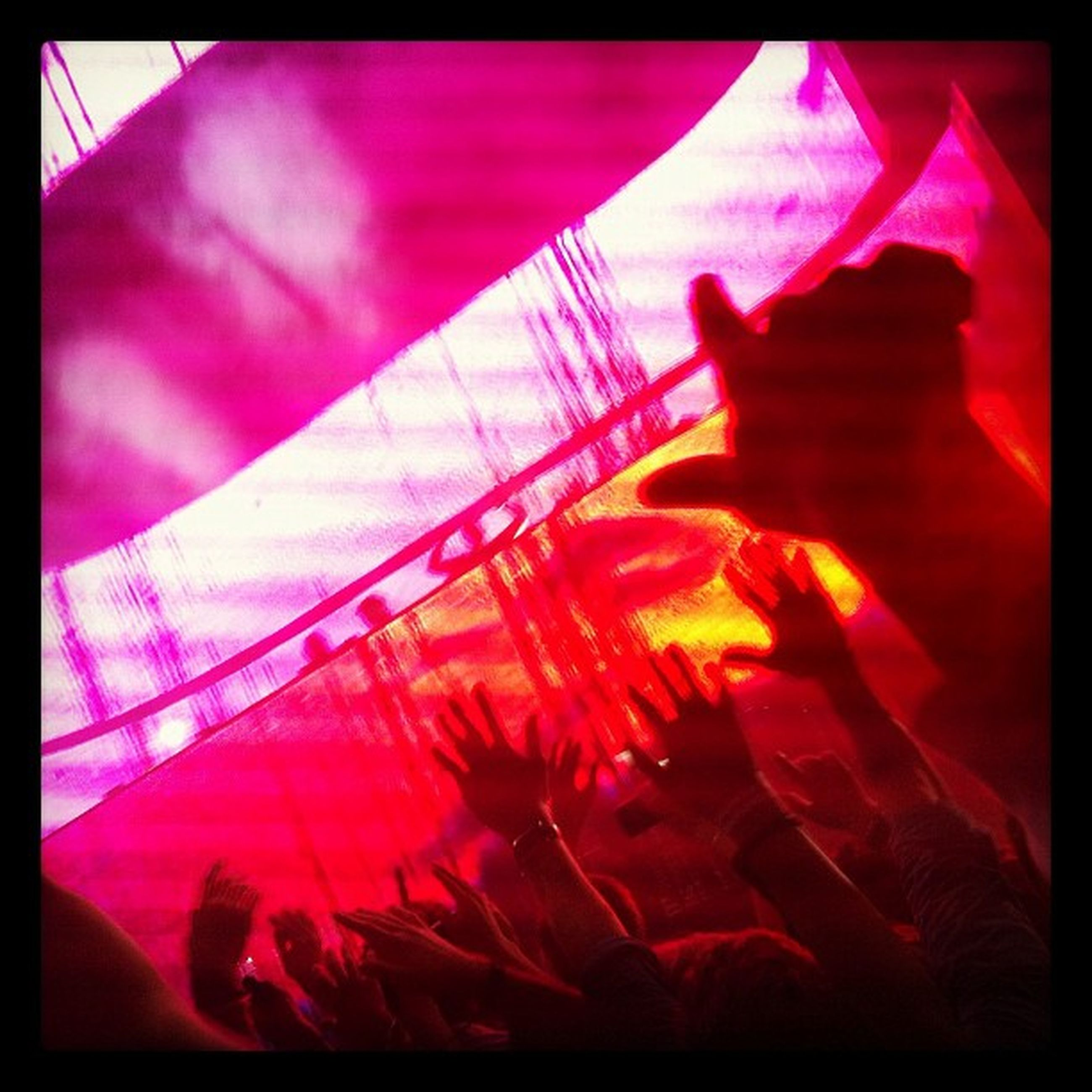 transfer print, auto post production filter, indoors, red, close-up, part of, selective focus, person, textile, unrecognizable person, high angle view, day, arts culture and entertainment, pink color, music, vignette