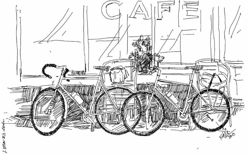 Art Drawing Cycle Kaay