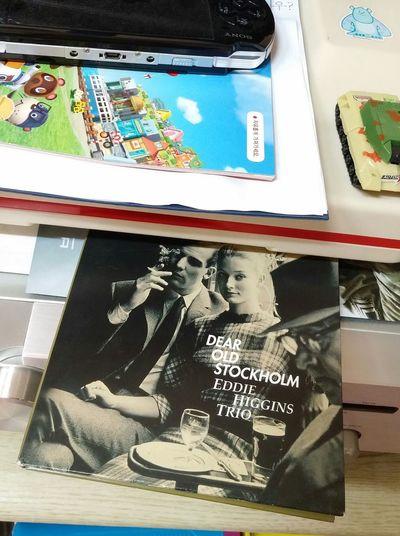 ジャケ買い。커버 사진만 보고 샀음. 이 트리오 앨범 커버는 다 멋이가 있음. Eddie Higgins Trio Venus Records