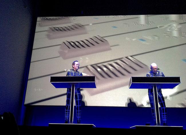 Music Concert Kraftwerk Electronic Music Projection