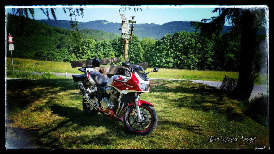 Frankenblick Thüringen CB1300 Germany🇩🇪 Honda Super-Boldor Thuringen First Eyeem Photo