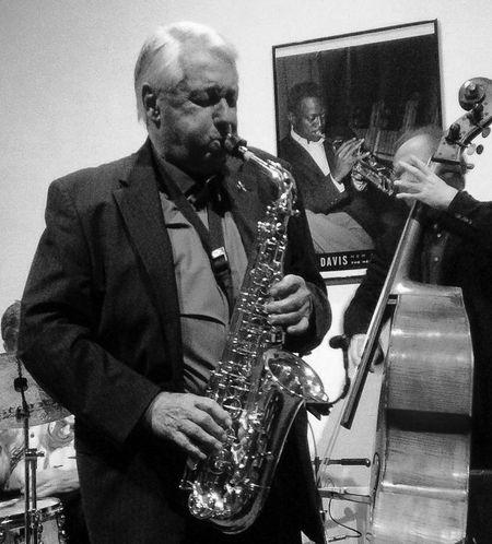 Jazz Saxophone Music Concert Enjoying Life