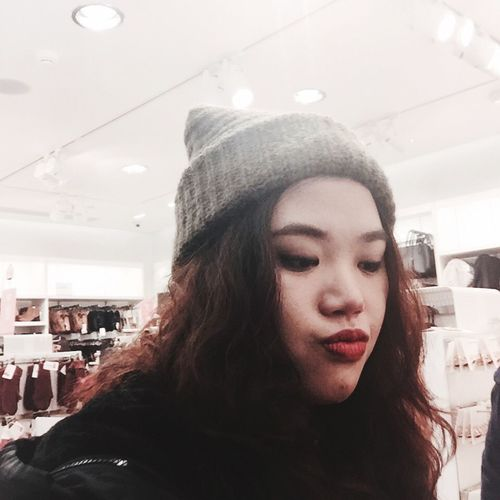 My Student Life Hat H&M Boring Lalala