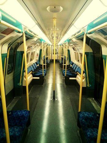Inside The Train Midnight Train Empty Train No People Alone... Very Rare Peace And Quiet