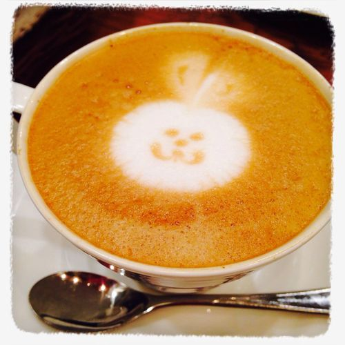 so cute;) Cute Rabbit Latteart