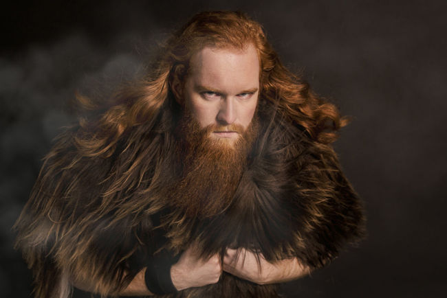 Adult Adults Only Beard Bearded Big Beard Close-up Gray Background Looking At Camera One Man Only One Person Only Men Outdoors People Portrait Red Beard Red Hair Red Hair ❤ Redhead Steamy Studio Shot Tangled Hair Viking Wild Wind Young Adult