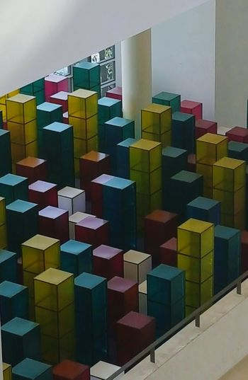 Copenhagen, Denmark Kunst Kunstmuseum Multi Colored Architecture Built Structure City Building Story Geometric Shape City Life Outdoors Repetition No People Sky Colorful Modern Development Large Group Of Objects Kuns