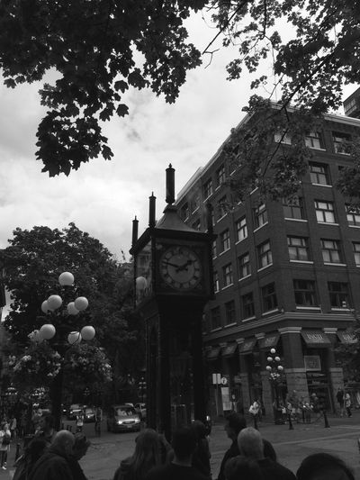 The City Light July 26th, 2015, Gastown steam clock, Vancouver, B.C., Canada Gastownsteamclock Vancouver B.C. Canada