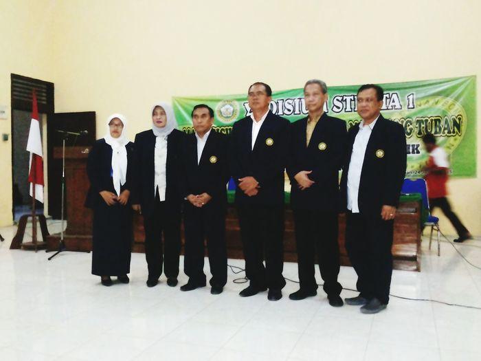 Yudisium persiapan wisuda Fakultas hukum Universitas Sunan Bonang Tuban
