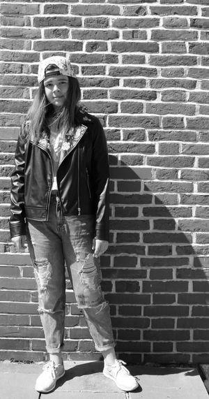 The Portraitist - 2017 EyeEm Awards Theportraitist Portrait Portraitofagirl Girl Littlegirl Sister Fashionismyprofession Fashion Fashionphotography Fashionmodel  Fashiongirl  Bricks Classic Blackandwhite Black & White Blackandwhite Photography EyeEmNewHere