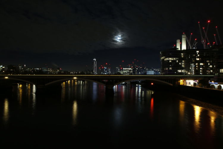 Moonlight over London London Photography Riverside Photography River View Scenic Architectural Detail Architectural Design Architectural Photography Reflections In The Water Reflections Night Photography Night Lights Night View Lights In The Dark Lights In The City City Cityscape Water Illuminated Urban Skyline Skyscraper Arts Culture And Entertainment Business Finance And Industry Reflection City Life Moon Arch Bridge Bridge - Man Made Structure Full Moon Moonlight River