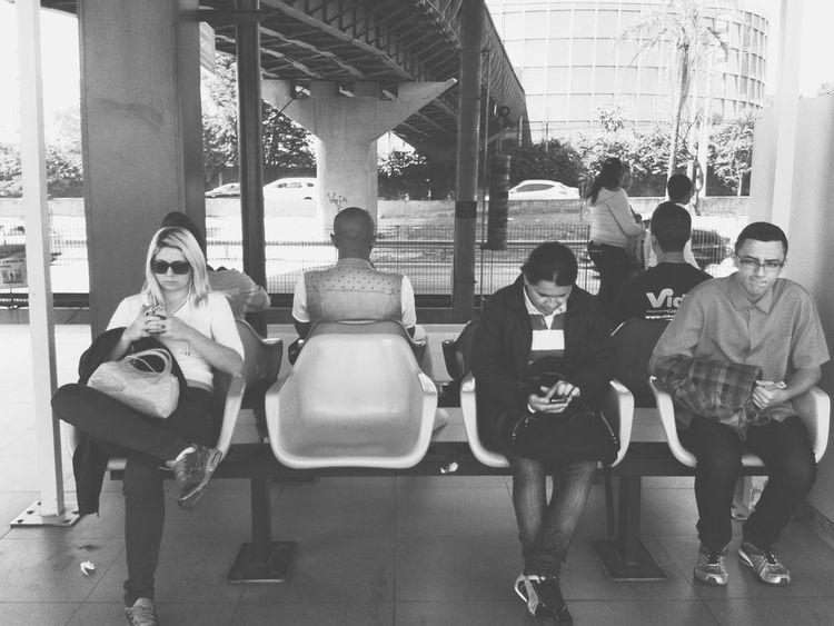 Happy Friday! ♥ Street Photography Streetphoto_bw Public Transportation NEM Black&white