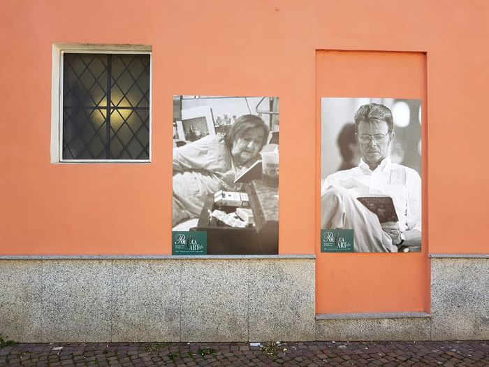 EyeEm Selects Day Outdoors Architecture Langhe Piedmont Italy Wall Poster In The Street Alda Merini David Bowie Reading Read