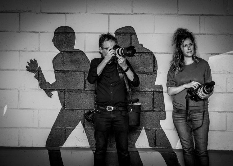 Camera Camera Work The Week on EyeEm Black And White Lifestyles Monochrome Observing Photographer Press Photographer  Public Places Work In Progress