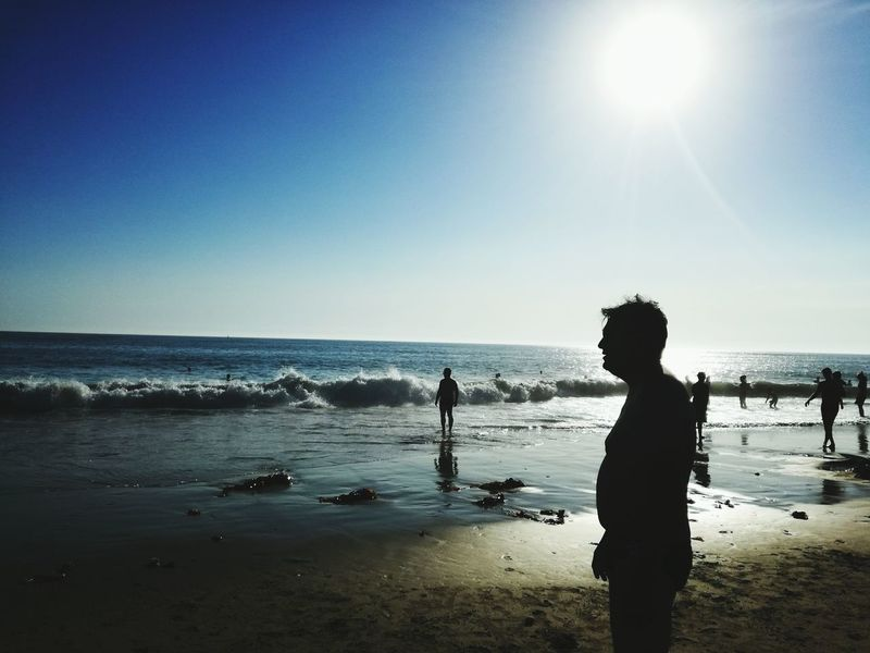 Beach Photography Shadows & Lights