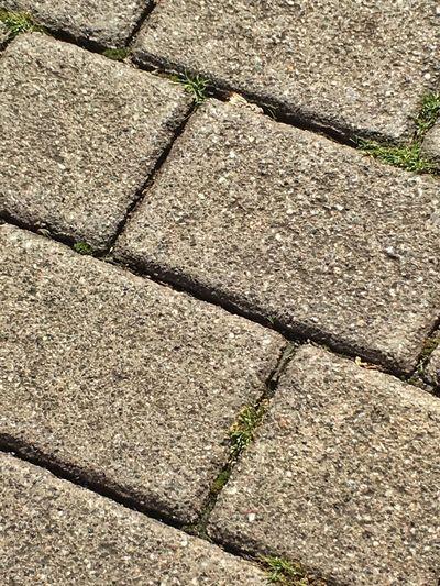 Urban Geometry Gehsteig Gehweg Fügen Gras  Grass Stone Stein