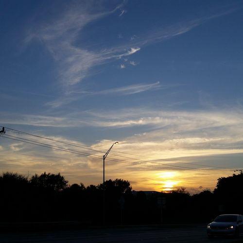 Dramatic Sky Sunset No People Silhouette Sky Nature Cloud - Sky Beauty In Nature Scenics Outdoors E Energy Epsilon