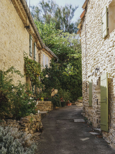 Faucon Pitoresque Provence Provence Alpes Cote D´Azur Alley Architecture Building Building Exterior Built Structure City Day Direction Faucon  Footpath House Narrow Nature No People Outdoors Plant Residential District Street The Way Forward Town Transportation Tree