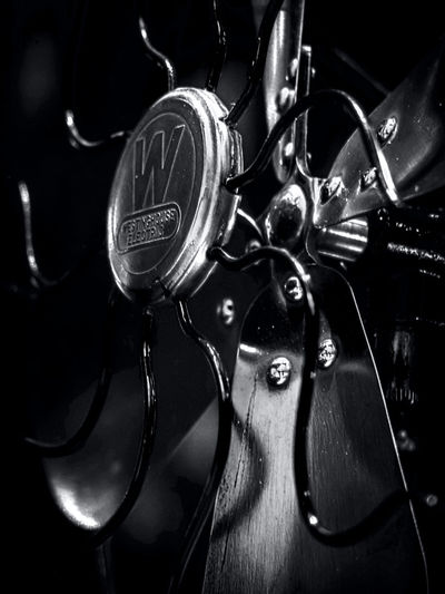 Vintage Westinghouse Fan Black & White Black And White Black And White Photography Black&white Blackandwhite Blackandwhite Photography Blackandwhitephotography Close Up Close-up Detail Fan Fan Blades Fans Focus On Foreground Full Frame Indoors  Industrial Industrial Photography Metal No People Order Still Still Life StillLifePhotography Westinghouse