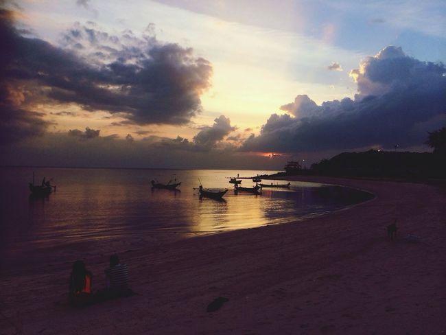 Sunset in Koh-Phangan