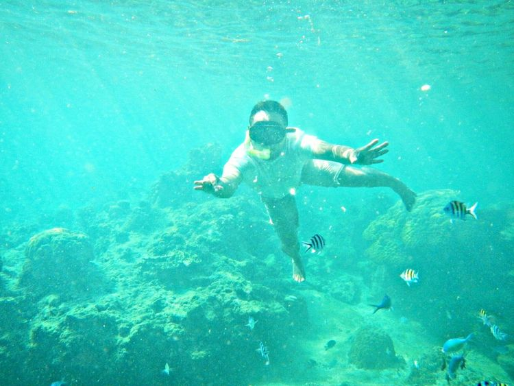Enjoying Life Fishes Under Water Vacation Sea_collection Water_collection Nature_collection Blue Sea Blue Water EyeEm Gallery EyeEm Best Shots EyeEm Best Pics EyeEm Indonesia EyeEmIndonesiaKu EyeEmIndonesiaCommunity Kepulauan Seribu INDONESIA Travelensa