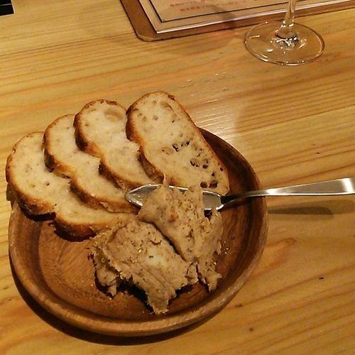 猪のリエット 生樽ワインと・・・ って、ワイン写ってない(;´_ゝ`) ワイン ジビエ 猪 リエット Wine Rillettes