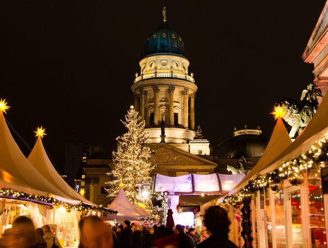 Architecture Beleuchtung City Illuminated Light And Shadow Lights Night Weihnachten Weihnachtsmarkt Xmas Xmas Decorations Xmas Market Discover Berlin