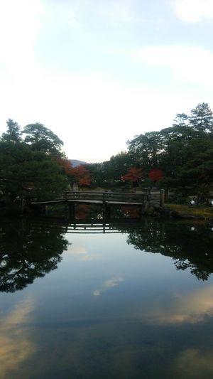 Reflection Water Sky Outdoors Cloud - Sky No People Tranquility Nature Scenics Taking Photos EyeEm Selects TheWeekOnEyeEM Japan This Week On EyeEm. Eyeemphotography 景色 風景 反射