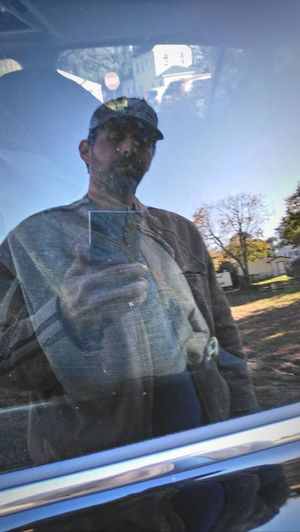 Ghost like self portrait... Nj Photographer Outofthewayangles Outdoor Photography Blue Sky Opaque Window View On A Whim Reflection Real People ThatsMe Edited Self Portrait Just Chillin' Car Window Daylight Natural Light Smoke Break Men Portrait Standing Front View Sky