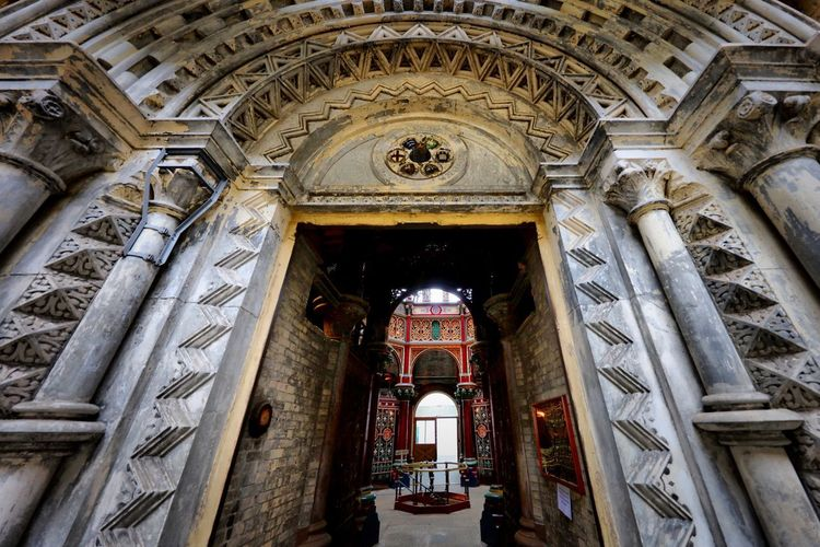Crossness Pumping Station Architecture Built Structure Low Angle View Building Building Exterior Arch No People