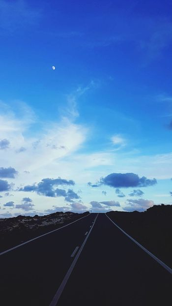 Road Outdoors Transportation The Way Forward Nature No People Scenics Landscape Sky Day