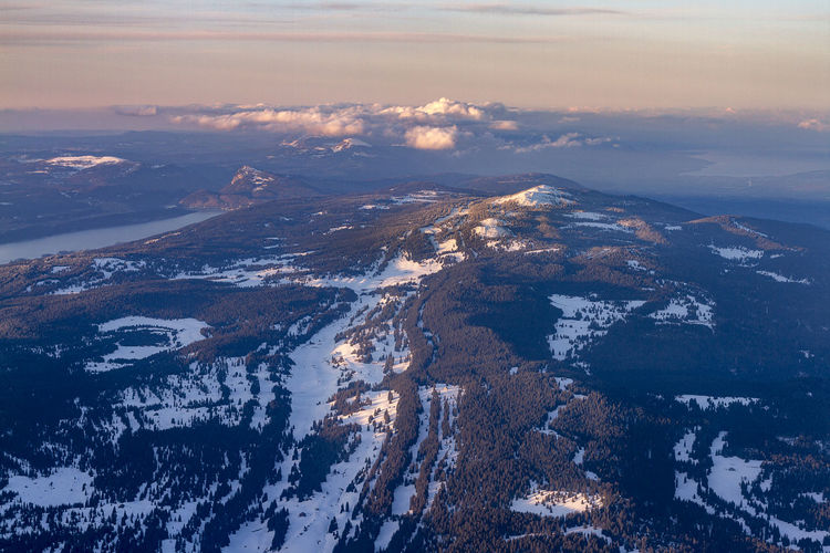 Mont Tendre aerial photo Geneva National Park Nature Winter Aerial View Beauty In Nature Cloud - Sky Cold Temperature Environment Forest Idyllic Lac De Joux Landscape Mont Tendre Mountain Mountain Peak Mountain Range Nature No People Outdoors Scenics - Nature Sky Snow Snowcapped Mountain Sunset Swiss Switzerland Tranquil Scene Tranquility Water Winter