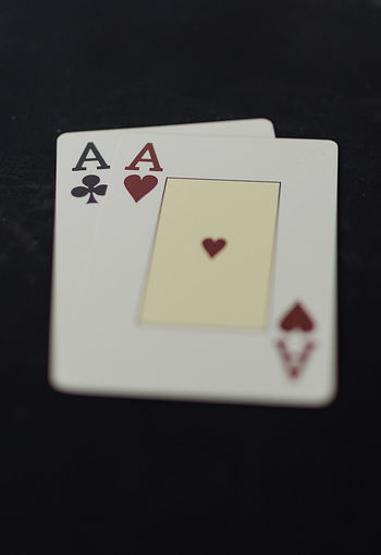 Smart Simplicity Playing Cards Ace Aces Poker Night Poker Game Minimalism